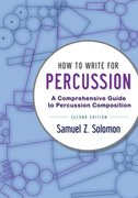 Cover for How to Write for Percussion