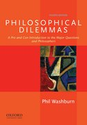 Cover for Philosophical Dilemmas