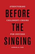 Cover for Before the Singing