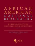 Cover for African American National Biography Supplementary