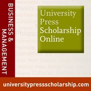 Cover for University Press Scholarship Online: Business and Management