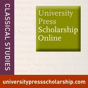 Cover for University Press Scholarship Online: Classical Studies