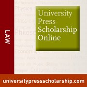 Cover for University Press Scholarship Online: Law