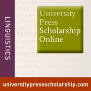 Cover for University Press Scholarship Online: Linguistics