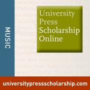 Cover for University Press Scholarship Online: Music
