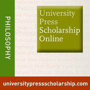 Cover for University Press Scholarship Online: Philosophy