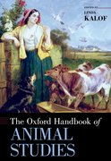 Cover for The Oxford Handbook of Animal Studies