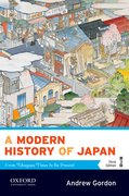 Cover for A Modern History of Japan