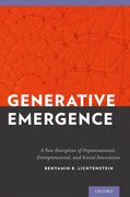 Cover for Generative Emergence
