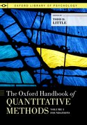 Cover for The Oxford Handbook of Quantitative Methods, Volume 1