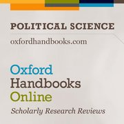 Cover for Oxford Handbooks Online: Political Science