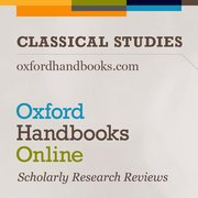 Cover for Oxford Handbooks Online: Classical Studies