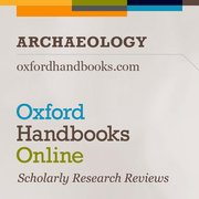 Cover for Oxford Handbooks Online: Archaeology