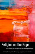 Cover for Religion on the Edge