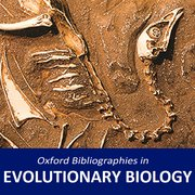 Cover for Oxford Bibliographies in Evolutionary Biology