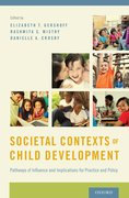 Cover for Societal Contexts of Child Development