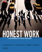 Cover for Honest Work