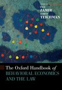 Cover for The Oxford Handbook of Behavioral Economics and the Law