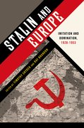 Cover for Stalin and Europe