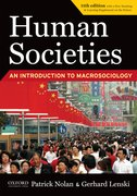 Cover for Human Societies