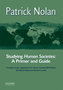 Cover for Studying Human Societies