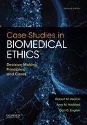 Cover for Case Studies in Biomedical Ethics