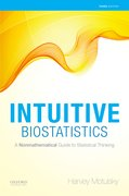Cover for Intuitive Biostatistics