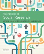 Cover for The Process of Social Research