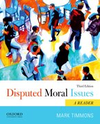 Cover for Disputed Moral Issues