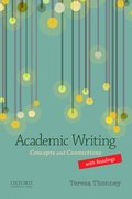 Cover for Academic Writing with Readings