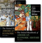 Cover for The Oxford Handbook of American Economic History