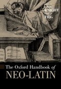 Cover for The Oxford Handbook of Neo-Latin
