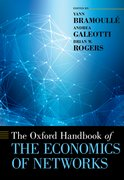 Cover for The Oxford Handbook of the Economics of Networks