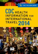 Cover for CDC Health Information for International Travel 2014