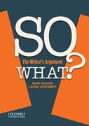 Cover for SO WHAT?