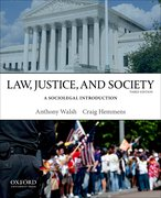 Cover for Law, Justice, and Society