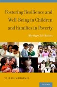 Cover for Fostering Resilience and Well-Being in Children and Families in Poverty