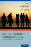 Cover for Ancestral Landscapes in Human Evolution
