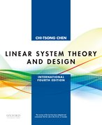 Cover for Linear System Theory and Design