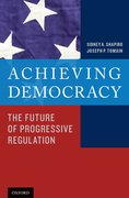 Cover for Achieving Democracy