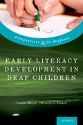 Cover for Early Literacy Development in Deaf Children