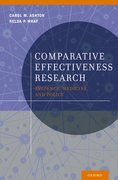 Cover for Comparative Effectiveness Research