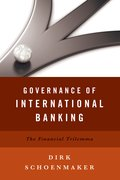 Cover for Governance of International Banking