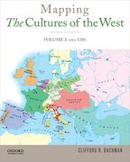 Cover for Mapping the Cultures of the West, Volume Two