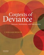 Cover for Contexts of Deviance