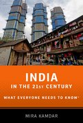 Cover for India in the 21st Century - 9780199973590
