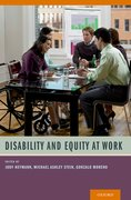 Cover for Disability and Equity at Work