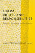Cover for Liberal Rights and Responsibilities