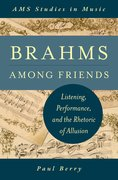 Cover for Brahms Among Friends