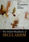 Cover for The Oxford Handbook of Secularism